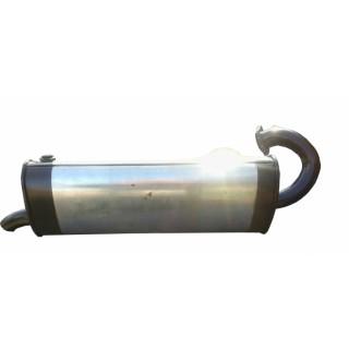 Глушитель Smart City / Fortwo 1998 - 2007 - Unimix, код 57.01