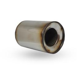 Пламегаситель коллекторный диаметр 115 длина 130 DMG