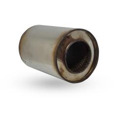 Пламегаситель коллекторный диаметр 130 длина 100 DMG