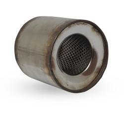 Пламегаситель коллекторный диаметр 90 длина 115 DMG